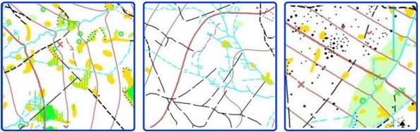 náhledy části mapy